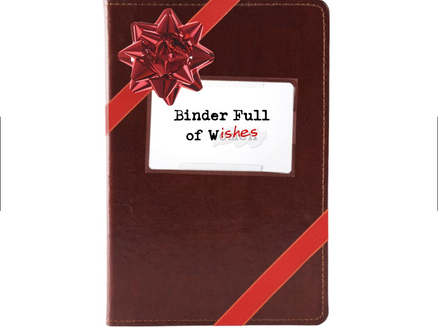 Binder Full of Wishes