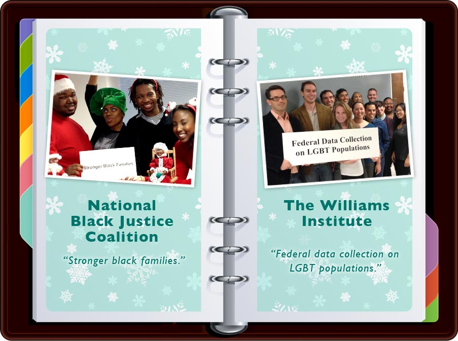 """National Black Justice Coalition: """"Stronger Black Families"""" / The Williams Institute: """"Federal Data Collection on LGBTQ Populations"""""""