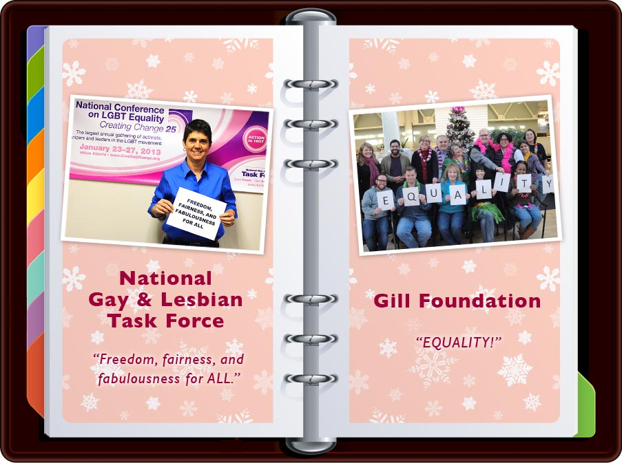 """National Gay & Lesbian Task Force: """"Freedom, Fairness, and Fabulousness for All."""""""